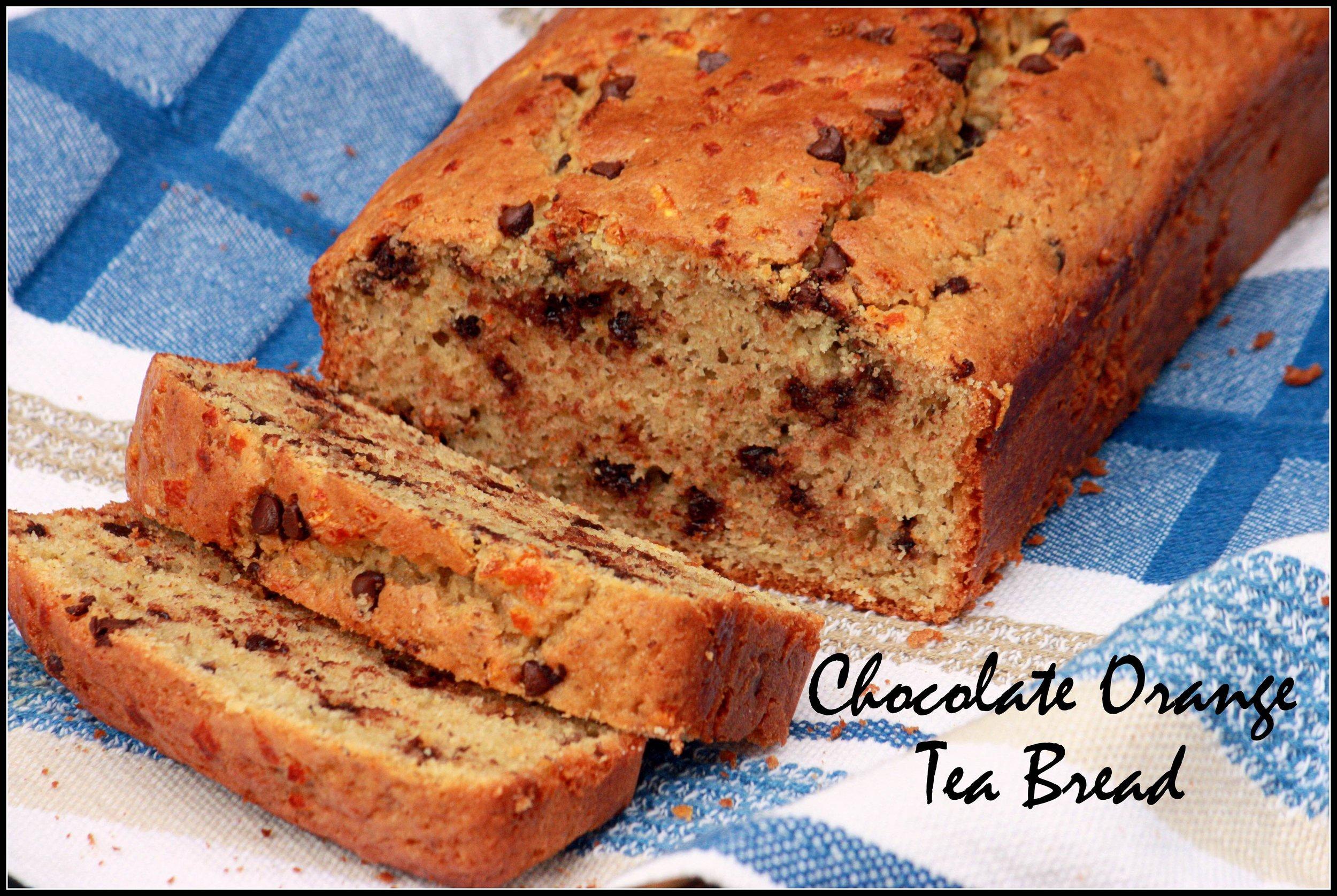 Chocolate Orange Tea Bread