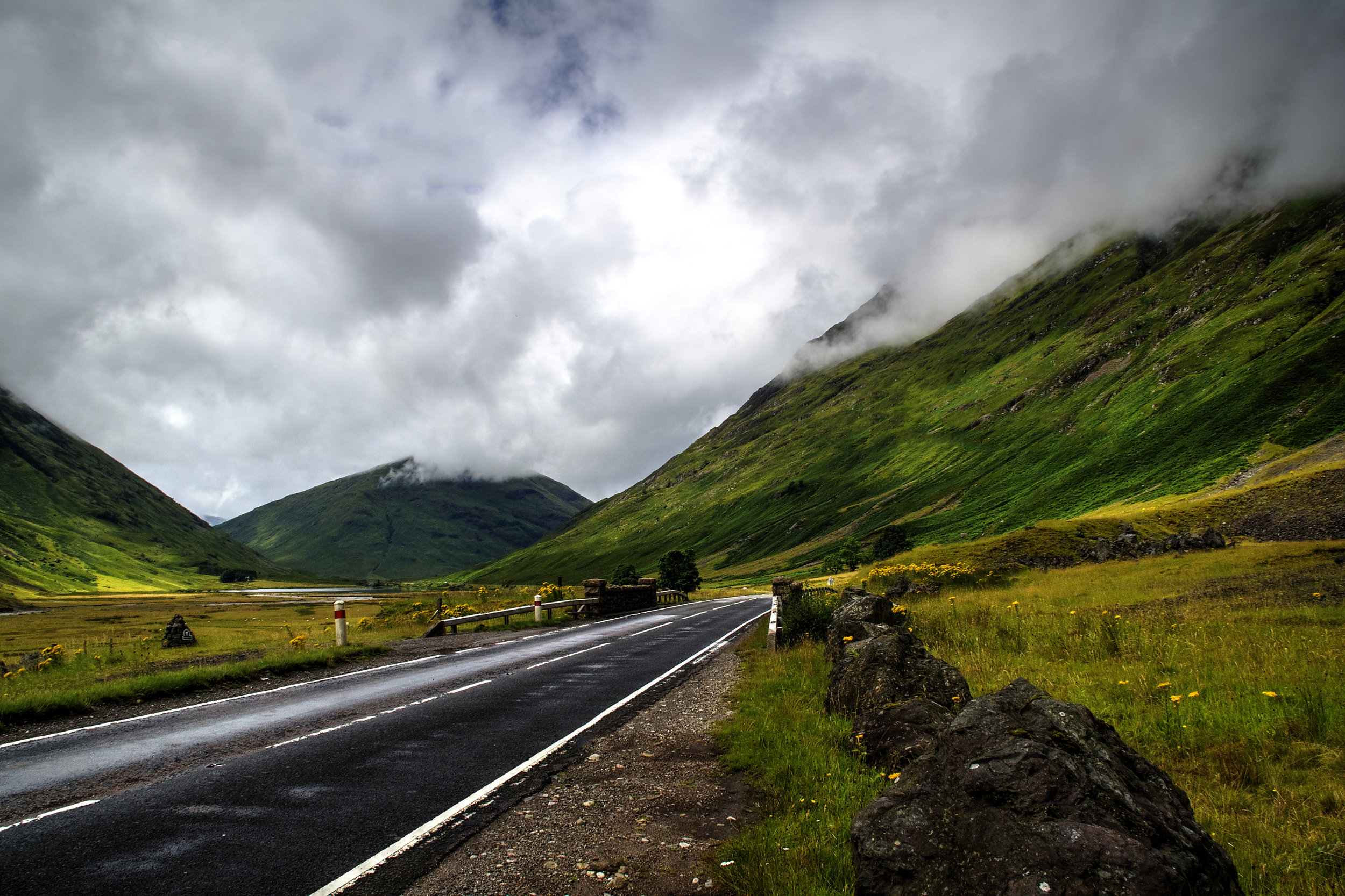 green mountains and a road.jpg