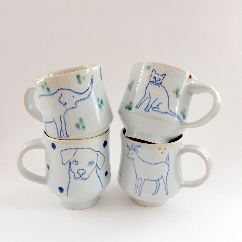 Animal Mugs,2017