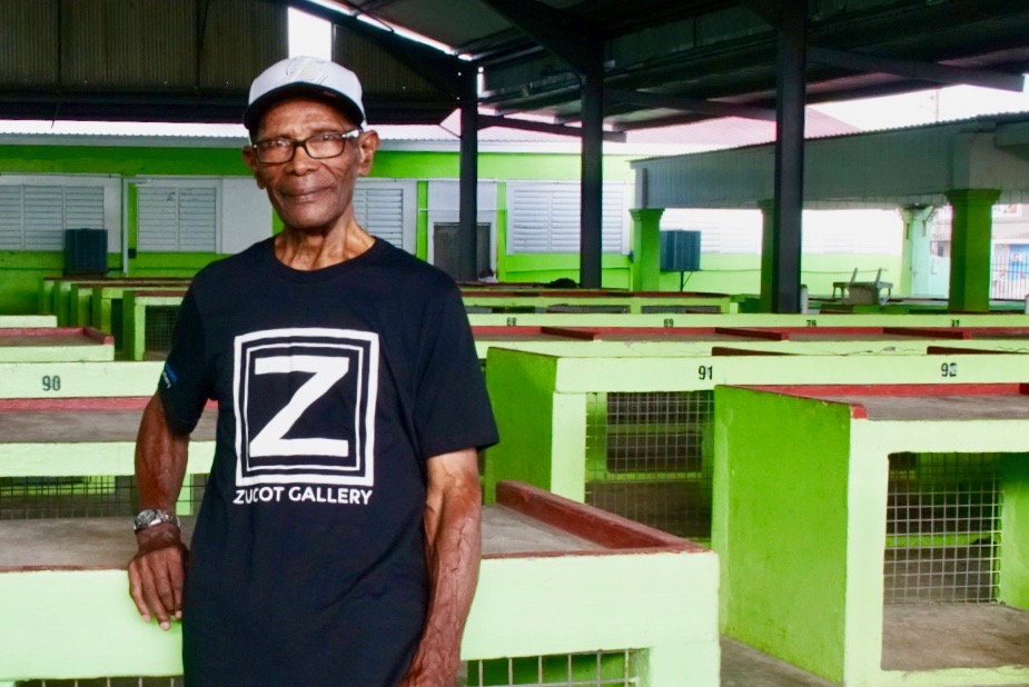 """Herman Taylor,  90 year old son of """"ZuCot"""""""