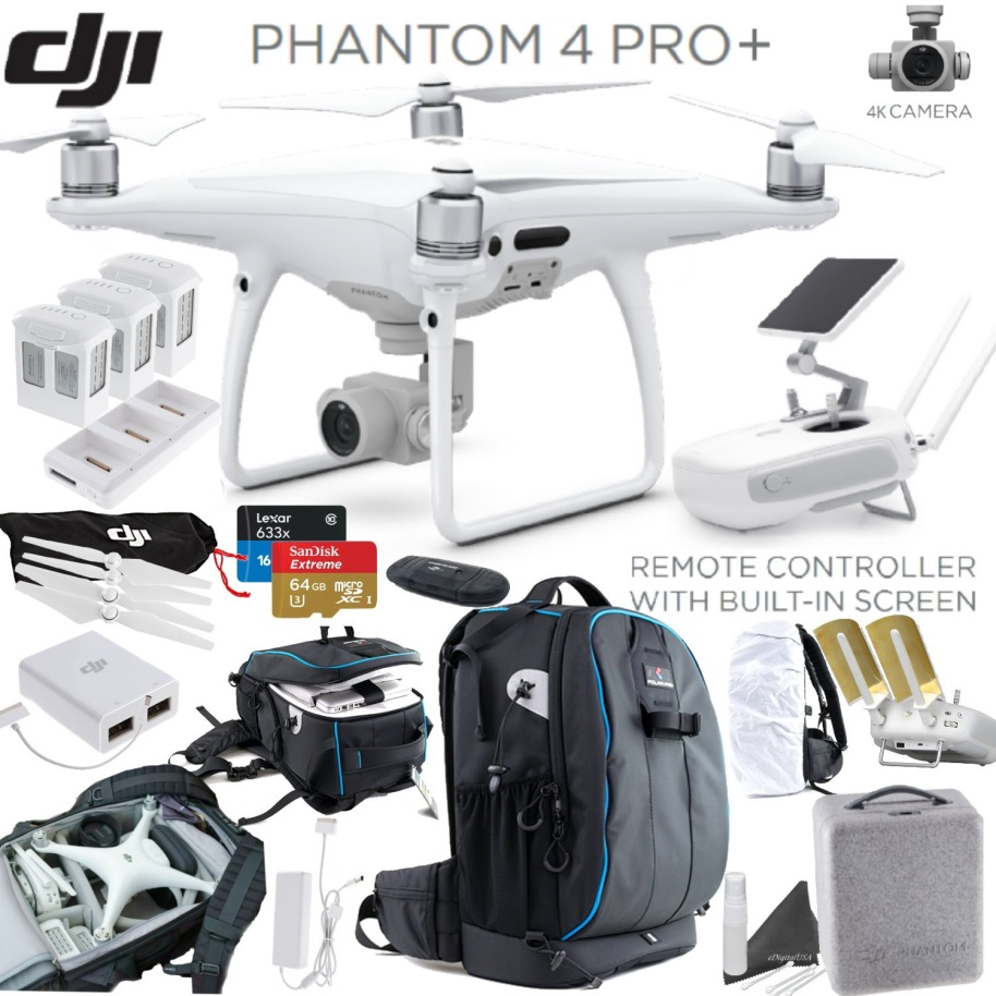 Phantom 4 Pro+ Kit $2998