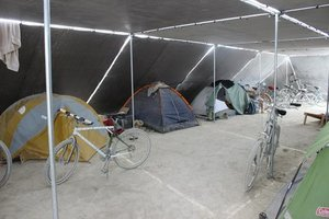 Burning Man Shade structure — The Playa Labs