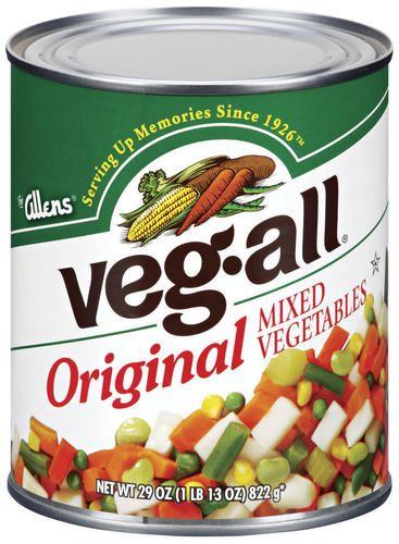 + Mixed veggies