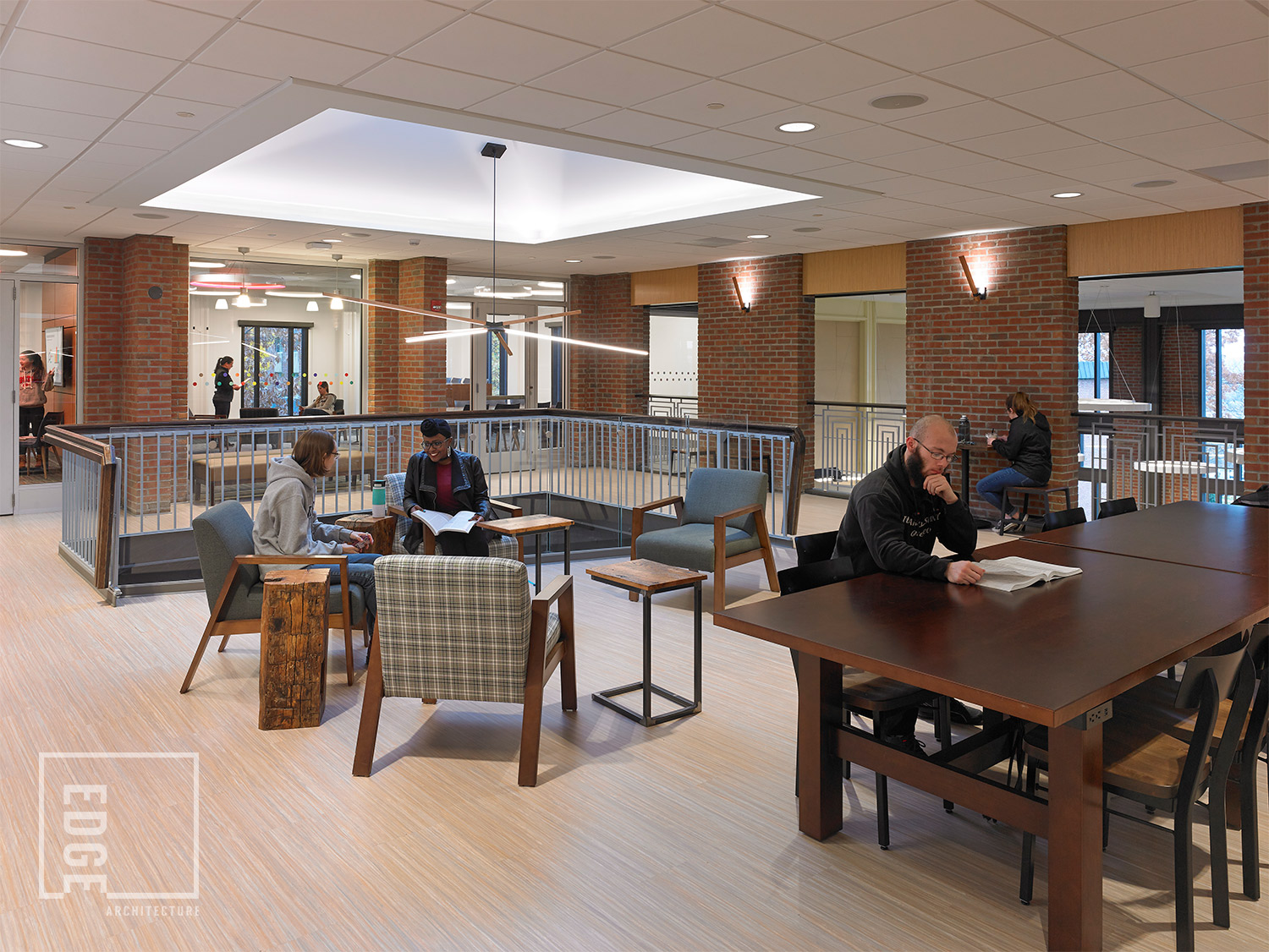 SUNY Geneseo Red Jacket Dining Hall 2nd Floor Upper Dining Hall & Meeting/Gathering Space