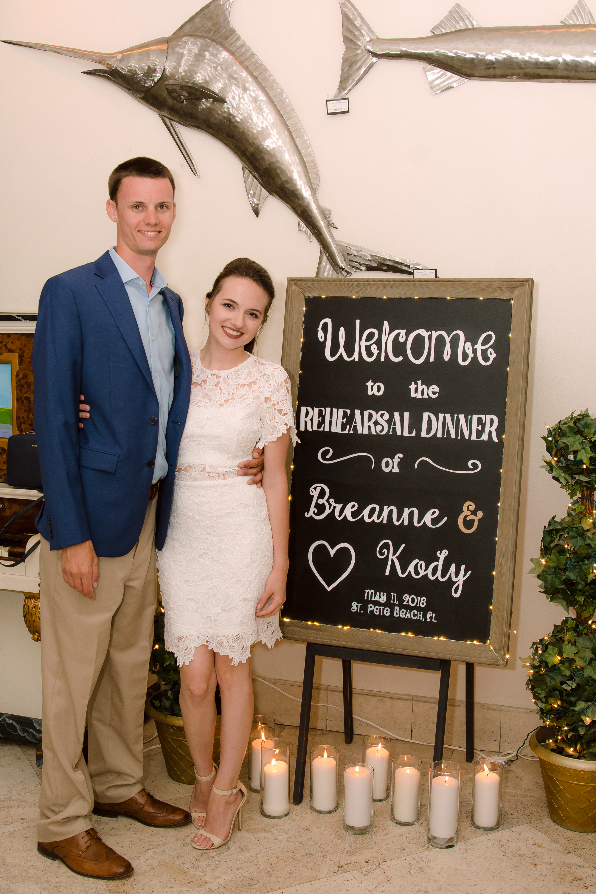 Breanne & Kody's Rehearsal Dinner - May 11, 2018 - Salt Rock Grill, Indian Rocks Beach