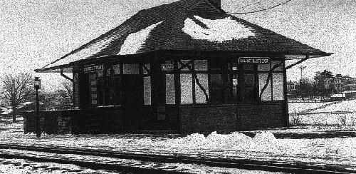Bustleton Train Station (used until 1935)