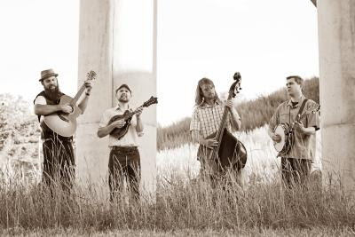 The Shameless Hex plays bluegrass night at Chatham University's Eden Hall