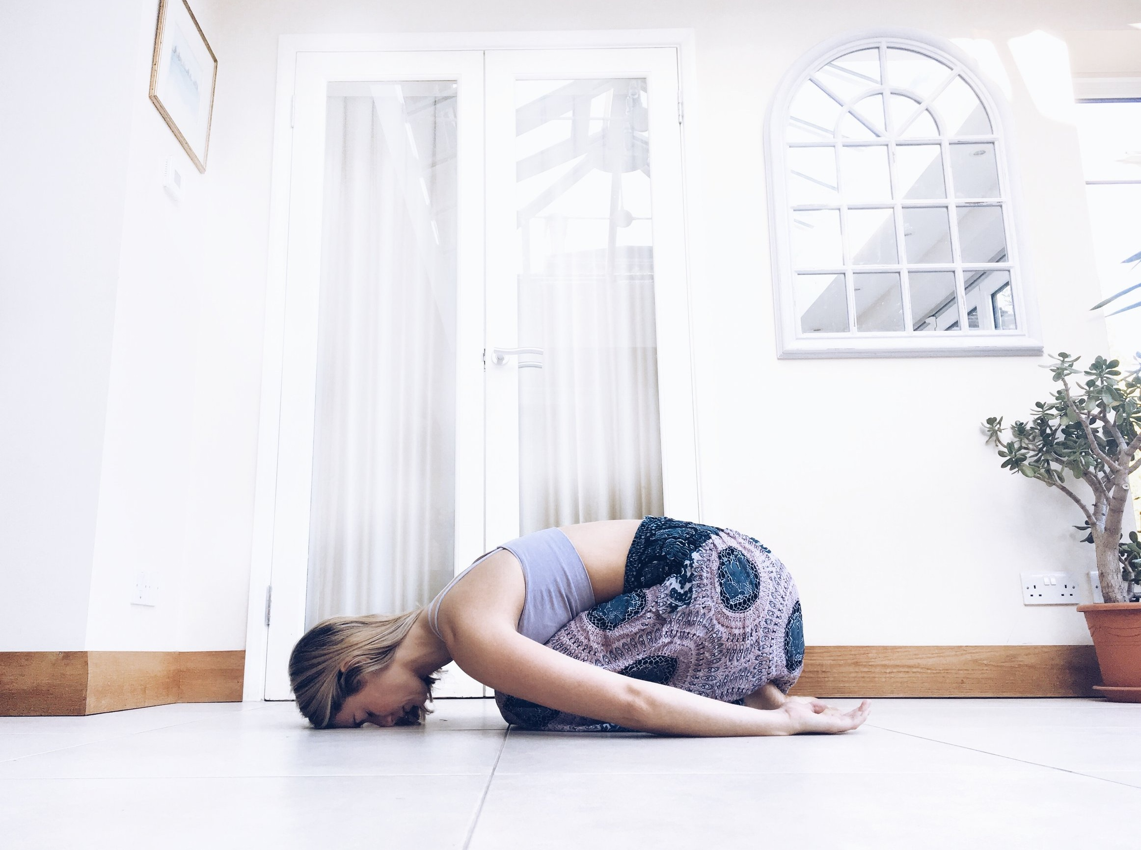 Balasana, Childs Pose