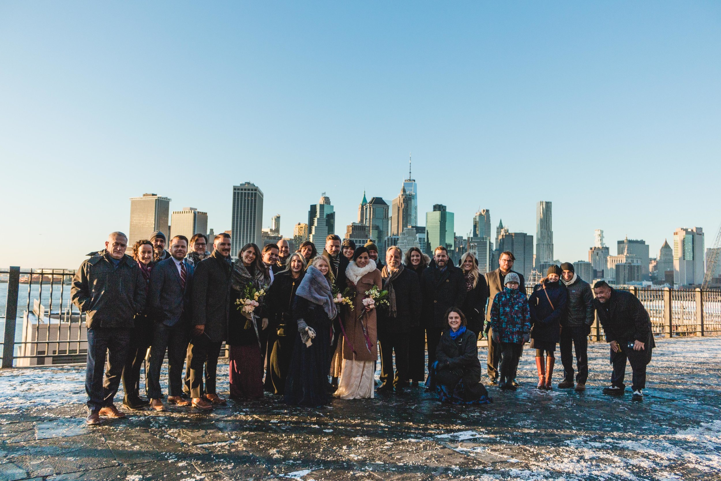 The Whole Gang - Fish / Nagy Wedding December 31st, 2017