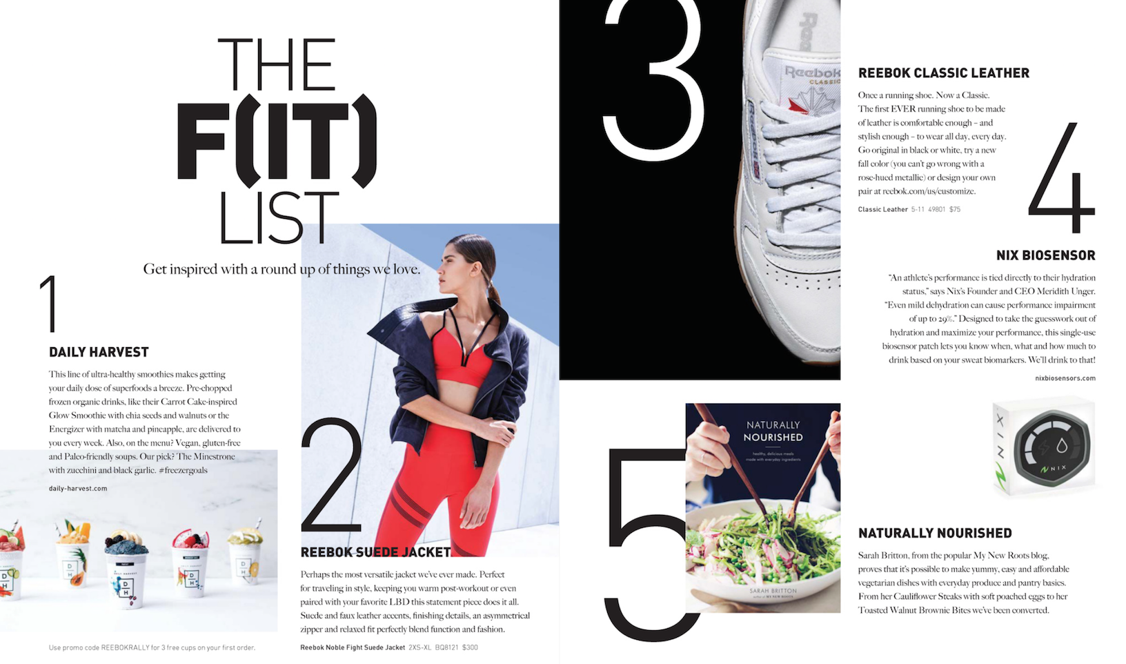 Reebok Fall '17 Catalog - Lifestyle Marketing