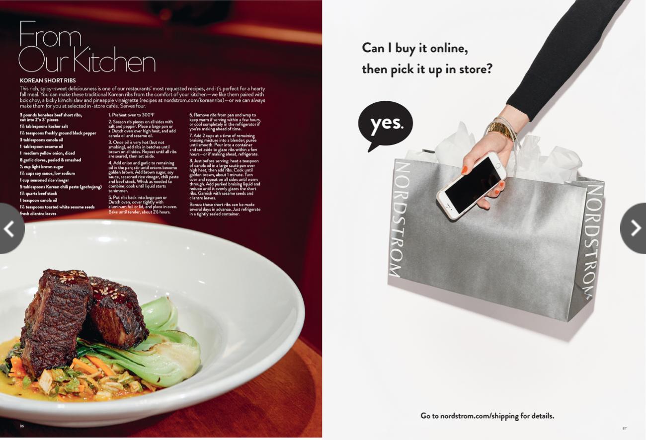 Nordstrom n. magazine - Lifestyle Marketing
