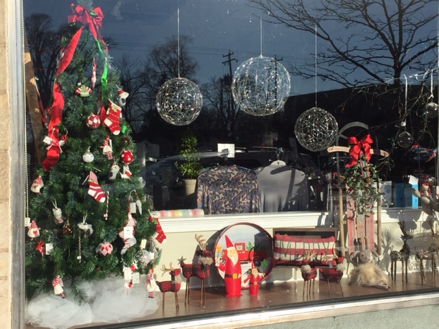 Spirited window displays for inspiration