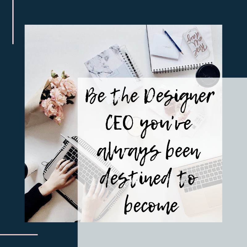 Created for the fashion designer and creative entrepreneur, who is ready to become the confident Designer CEO of your very own fashion brand.