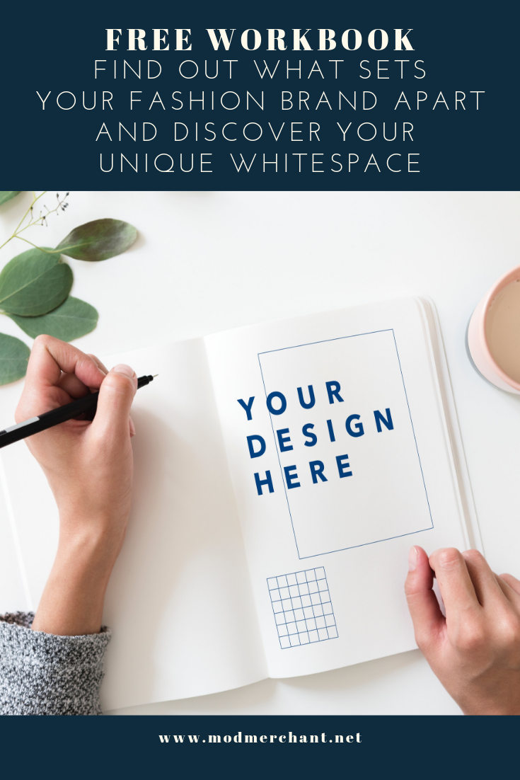 Whitespace Workbook for Fashion Brands