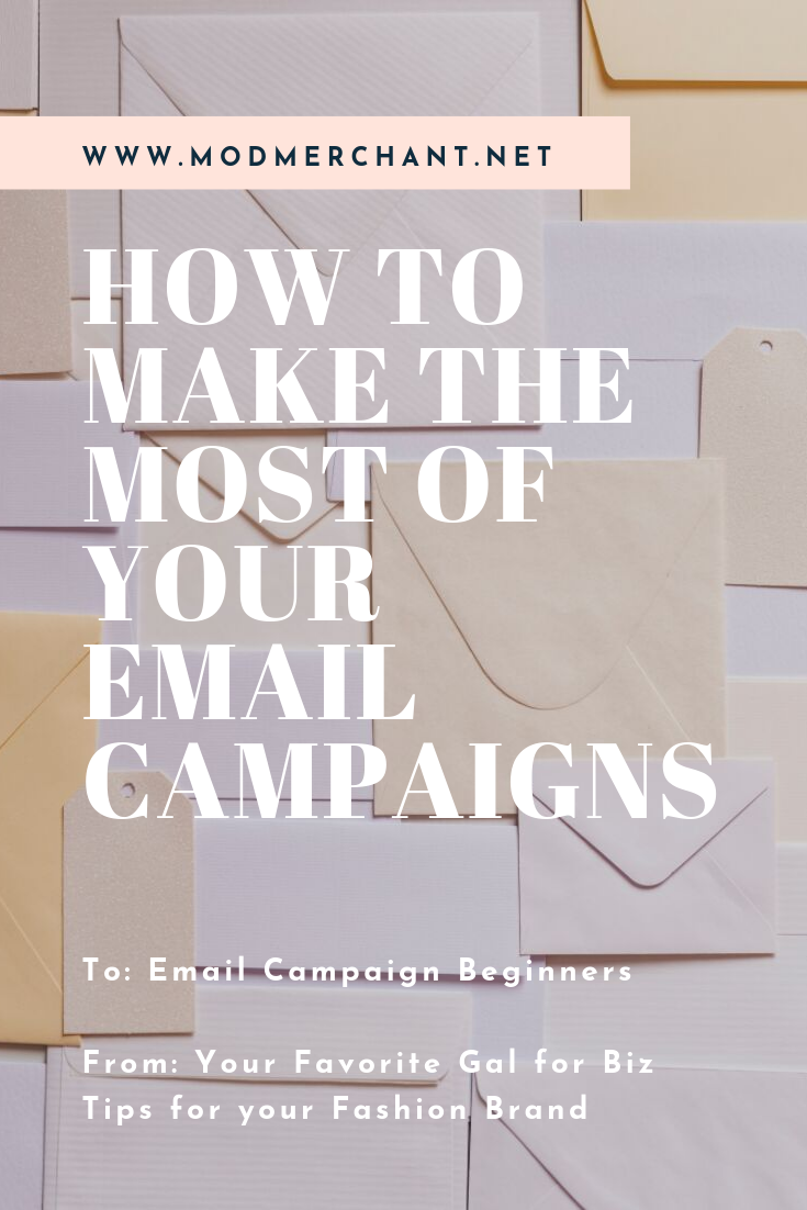 How To Make The Most Of Your Email Campaigns for Fashion Brands