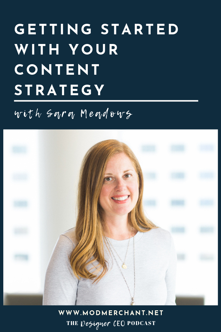 Getting Started With Your Content Strategy with Sara Meadows of The Edit Effect and MatchPoint Consultants