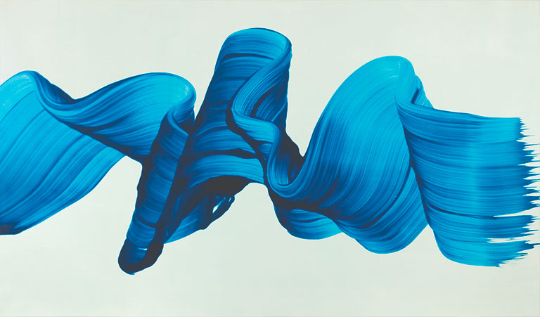James Nares,  It's Raining in Naples , 2003. Private collection. Image courtesy of Kasmin Gallery. Photo courtesy: Milwaukee Art Museum.