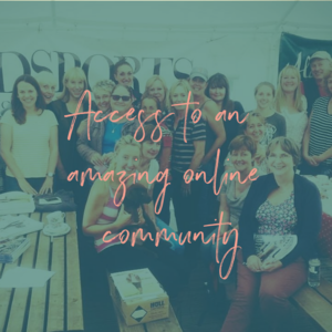 Amazing Community!  Community is a huge part of our club and as a member you'll get access to our secret Facebook community where you can forge friendships & seek advice + Facebook Live Q&A's with experts!