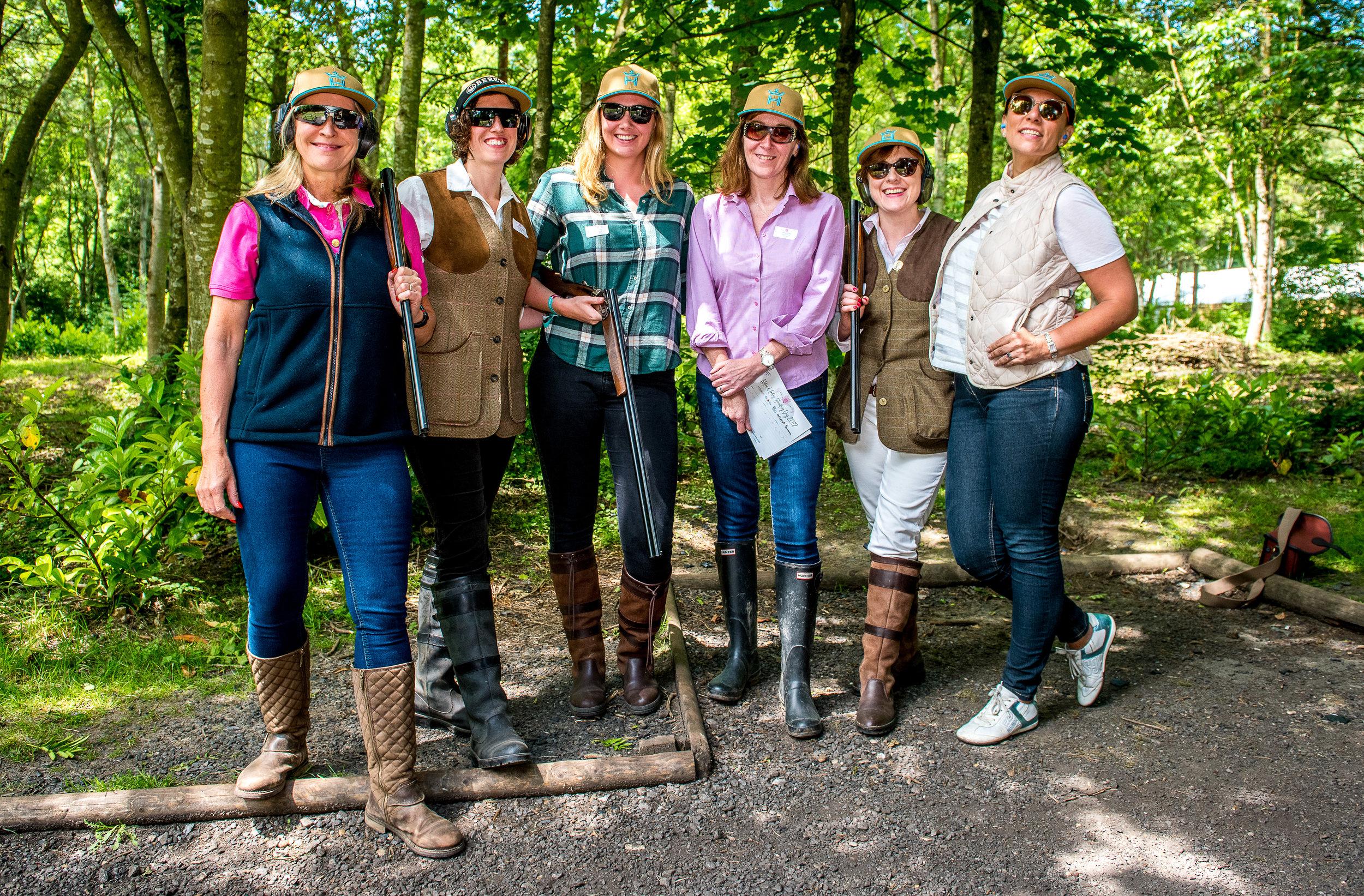 Ladies Shooting