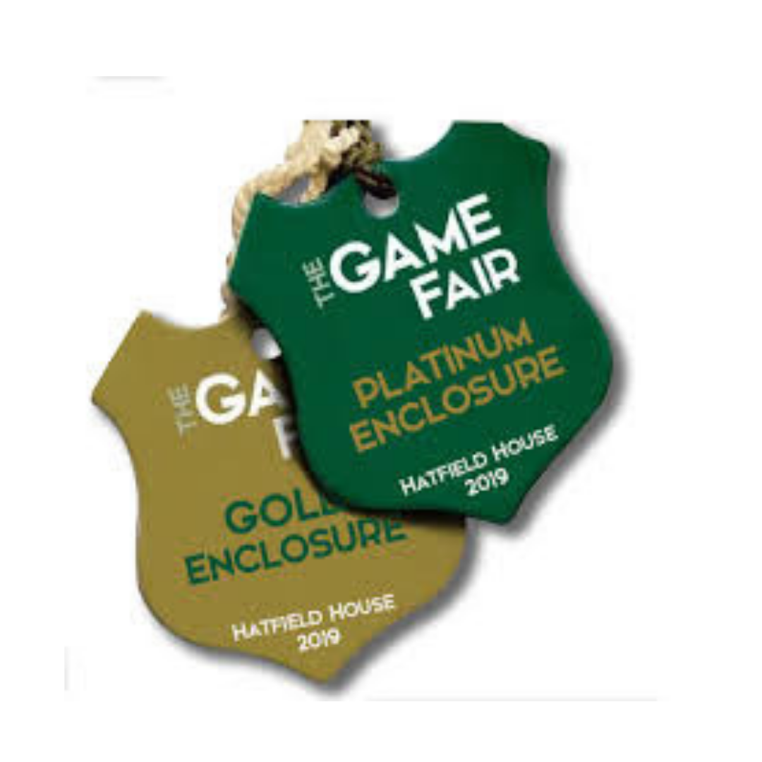 Two Sunday Gold Passes to The Game Fair!    WINNER: LISA DEARMAN