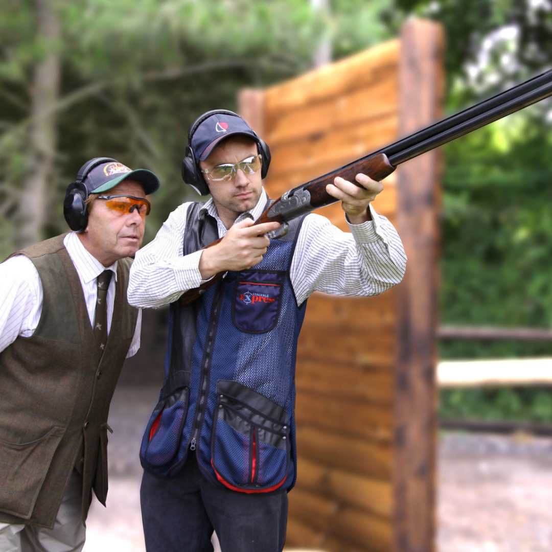 One Hour Lessons inc. clays & cartridges at    Hereford & Worcester Shooting Ground    CHEREE PERKINS - GARLANDS