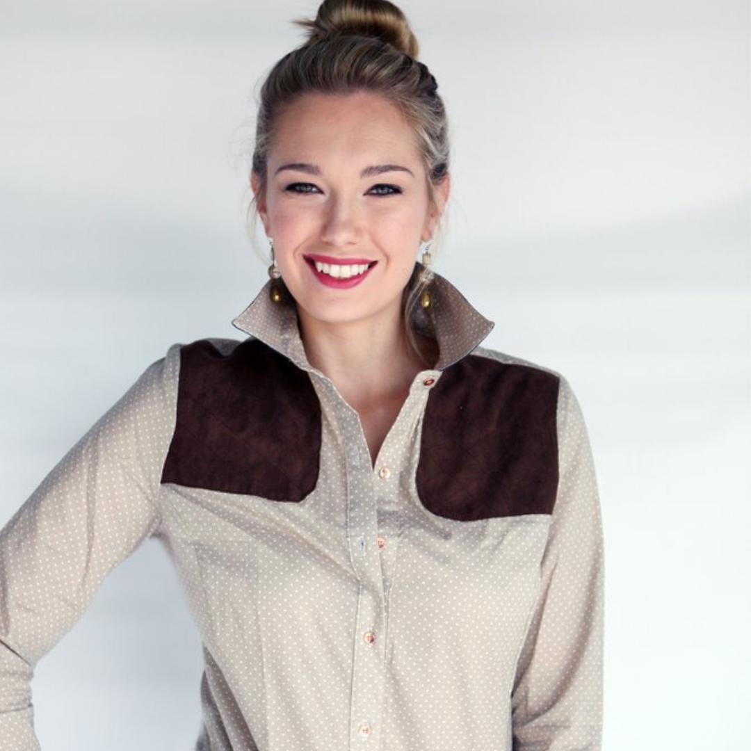 Stunning McKenna Quinn Piper Shirt!    SHAN PACE - DOVERIDGE