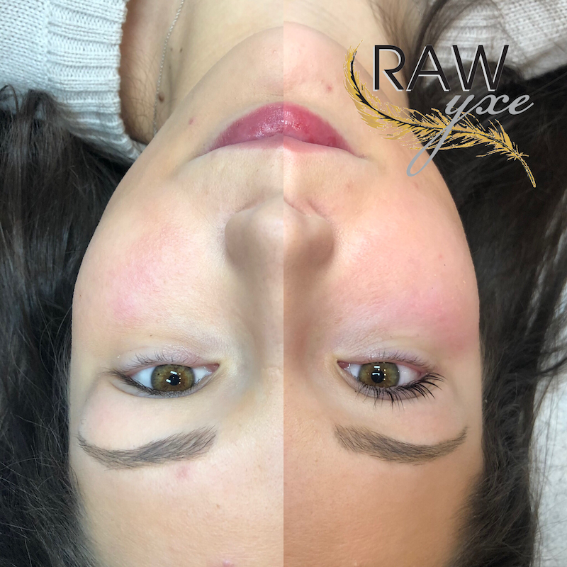 Healed Microblading and a Fresh Lash Lift and Tint