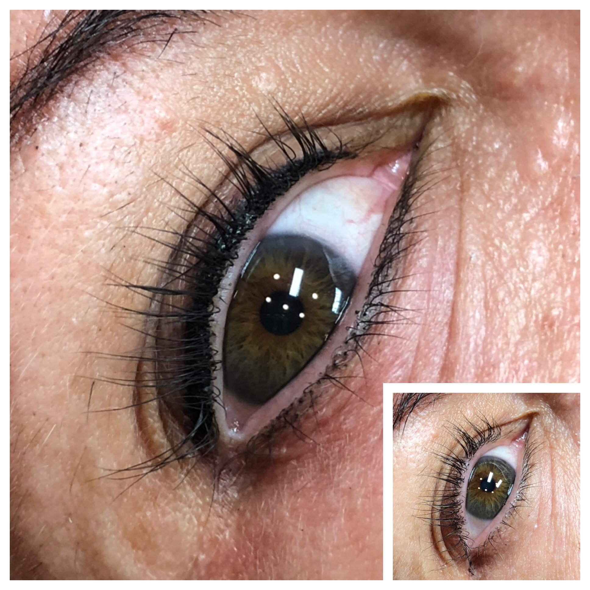 Healed Upper and Lower Smoky Lash Enhancement