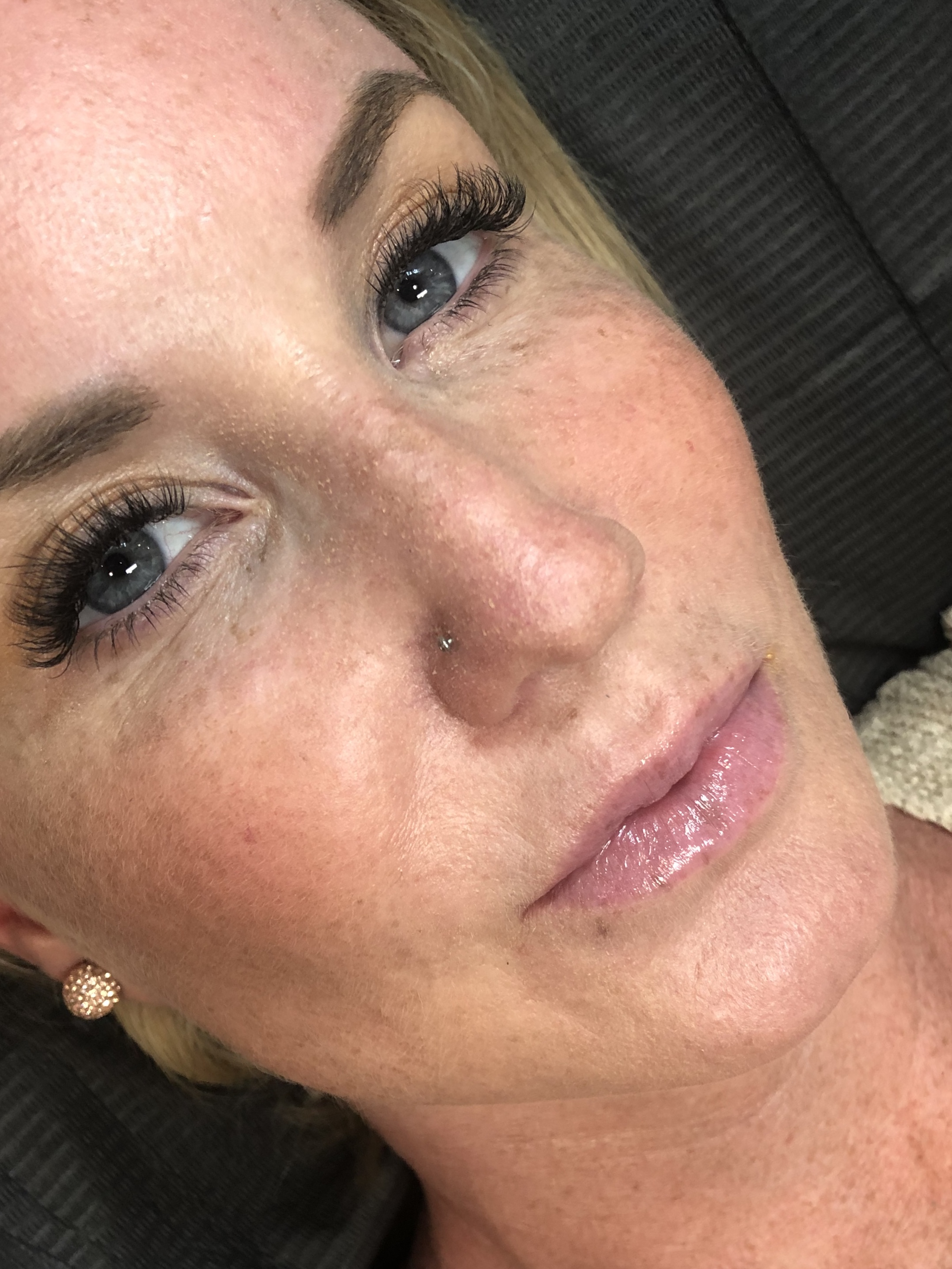 Healed Brows and Healed Smoky Lash Enhancement