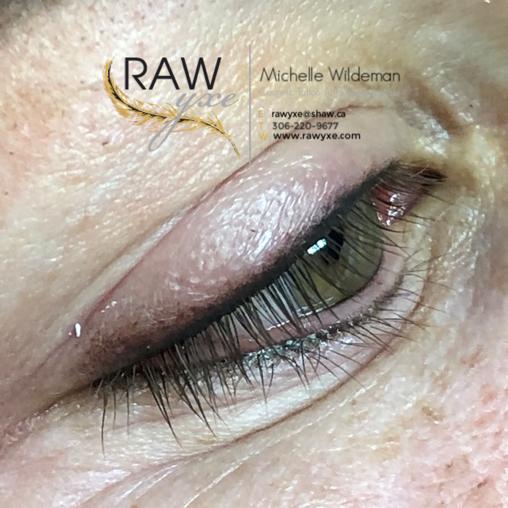 Upper and Lower Smoky Lash Enhancement with Shading