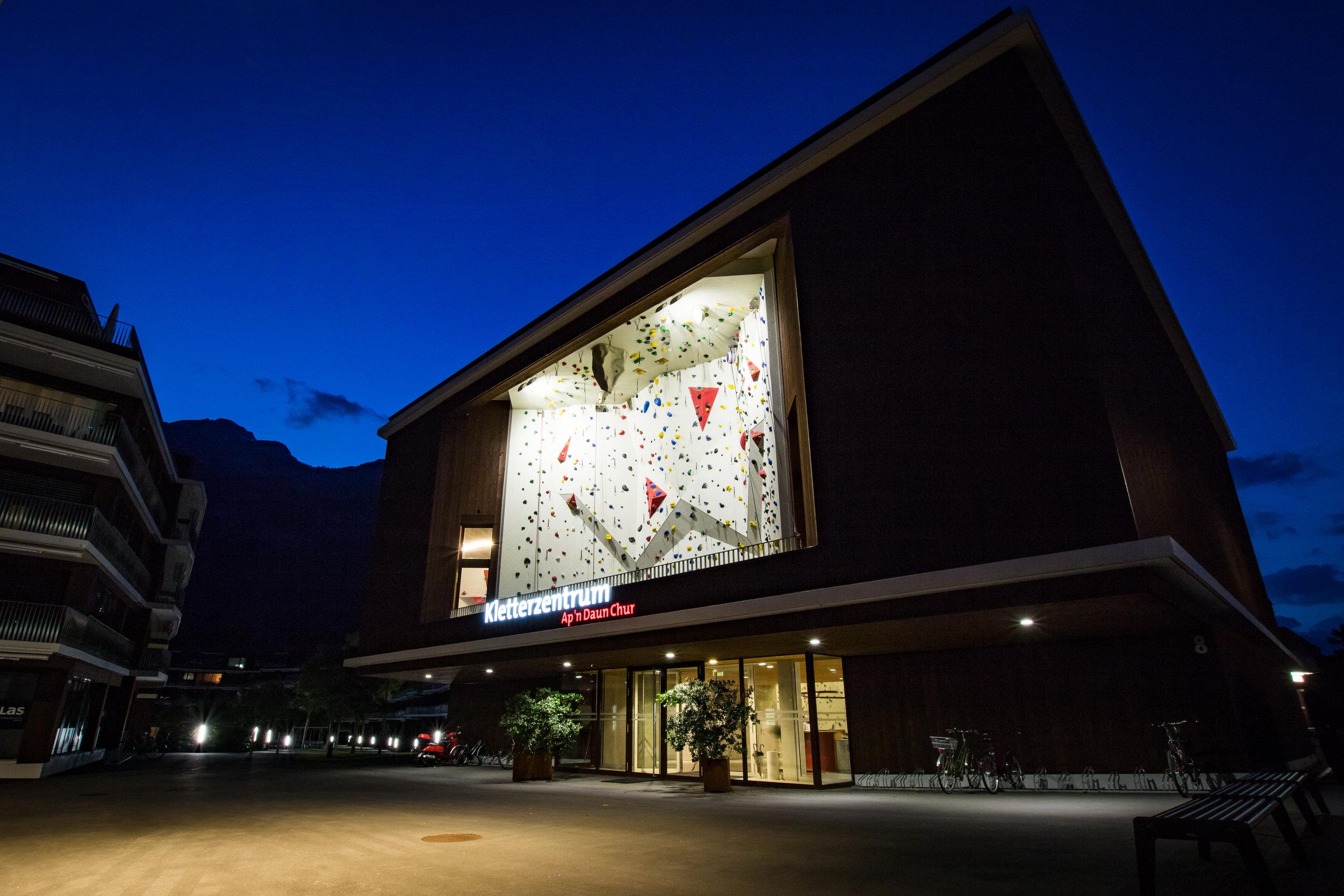 Kletterhalle