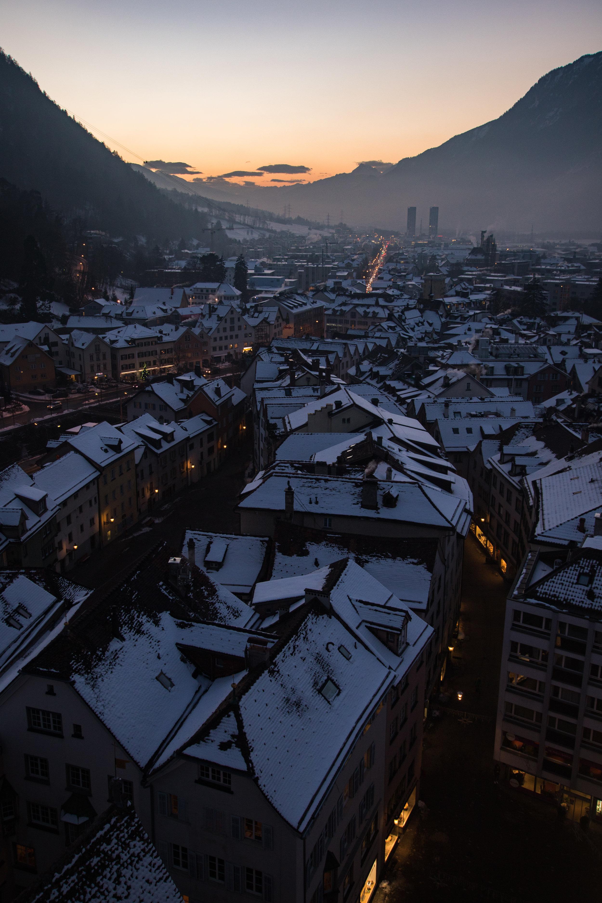 Altstadt im Winter