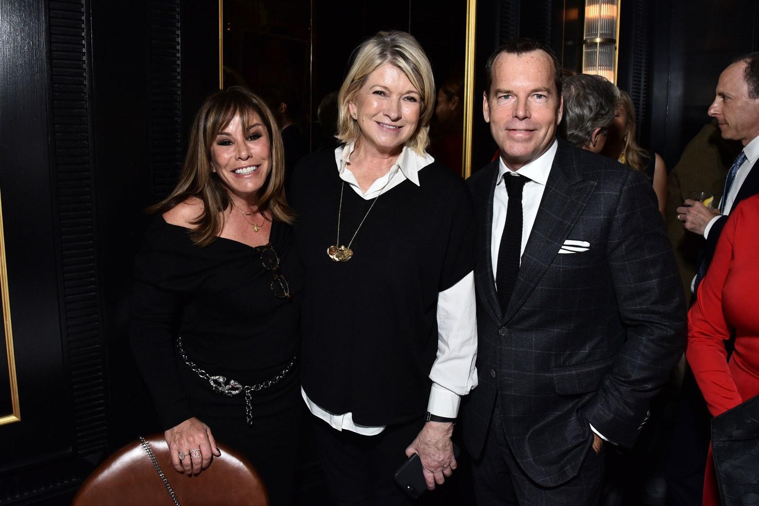 Melissa Rivers, Martha Stewart, and Scott CurriePhoto: Patrick McMullan