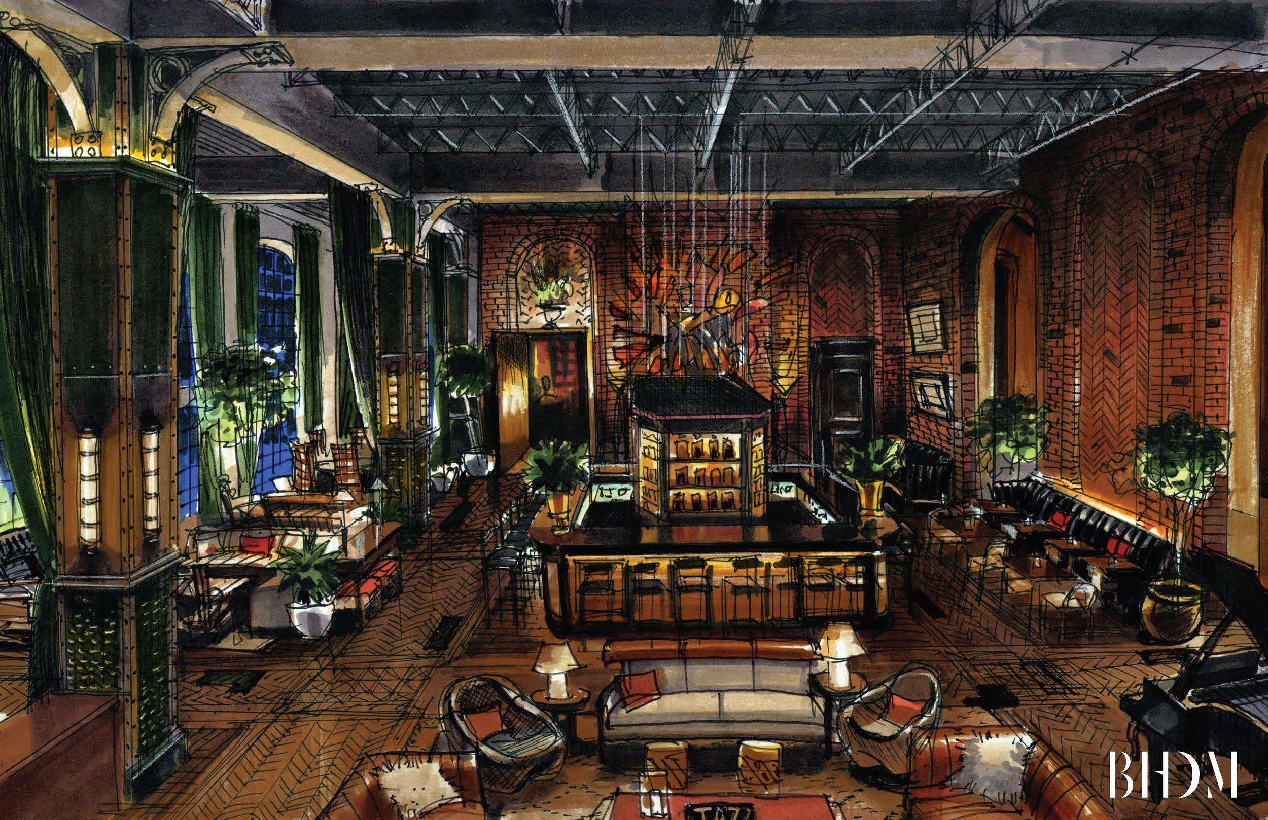 BHDM-BRIAN PAUL HOTEL-LIVING ROOM NIGHT RENDERING.jpg
