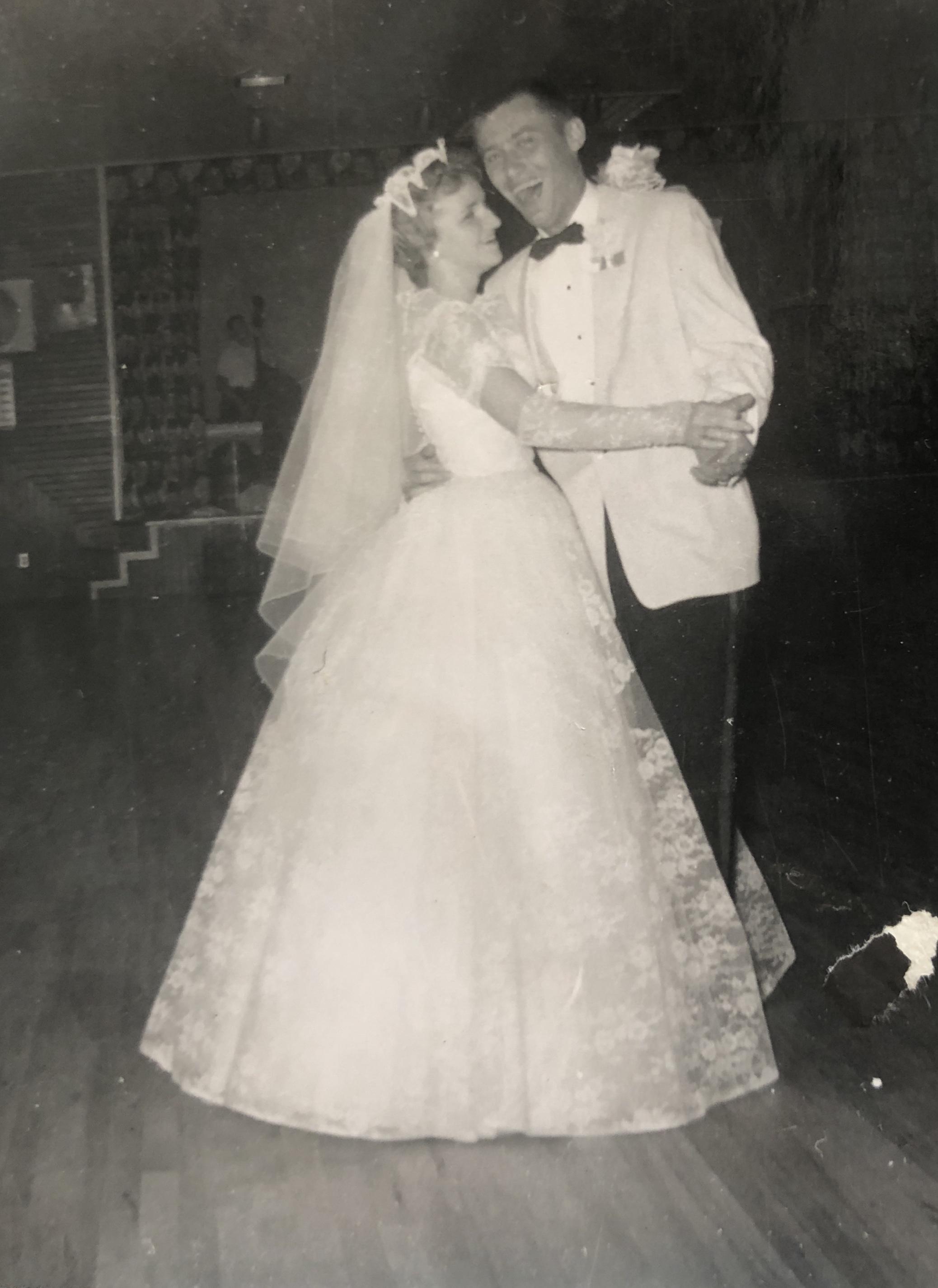 Hans and Darlene, 1959