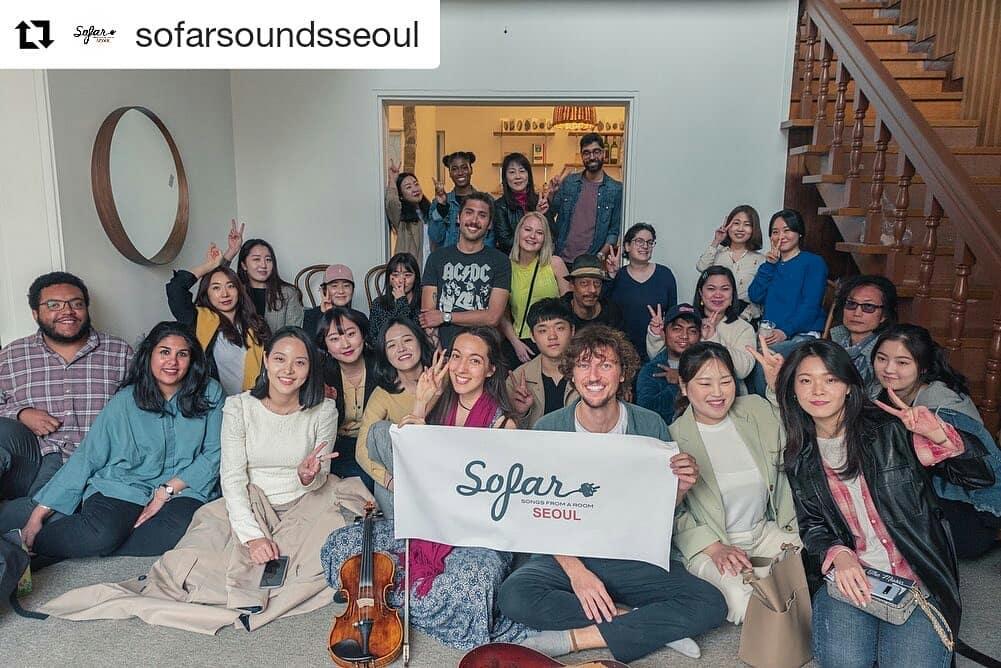 Sofar Sounds Seoul show with Scott Hildebrand