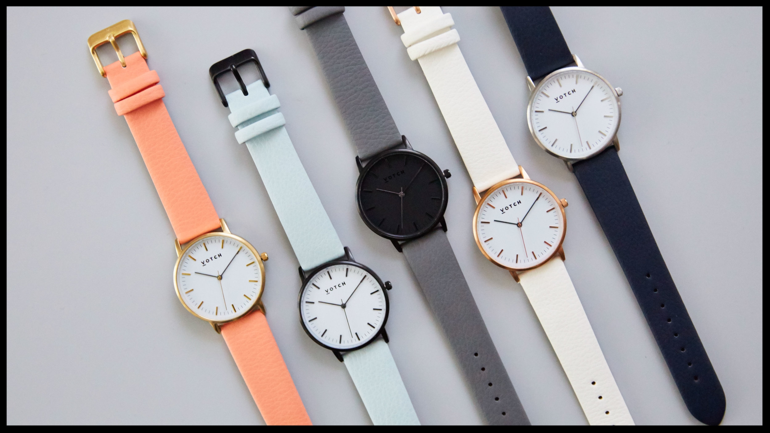 Votch Watch - These gorgeous watches are going to be on many vegans' Christmas wishlist. They are beautifully made, come in many styles and of course the strap is faux leather. From £120. Buy now.