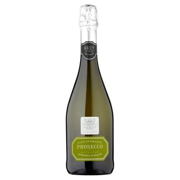 San Leo Prosecco  -  This prosecco has notes of citrus and peach, perfect for an aperitif. £10.99. Buy now.