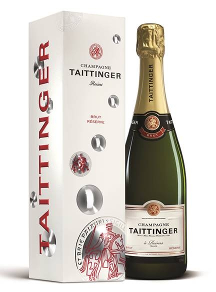 Taittinger Brut Reserve Champange - With hints of honey and fresh fruit, this complex champagne is elegant and oh so drinkable! £32.99. Buy now.