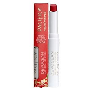 Pacifica Natural Lipstick in Firebird - Packed with pigment and highly moisturising this is the perfect every day red. It does require a few applications during the day, but as it's full of emollients you won't need to apply lip balm. £12.99