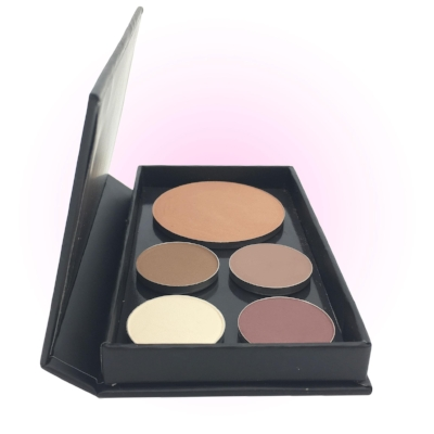 Pure Anada A Little Naked Palette - This is the palette per excellence to create a stunning and natural 'nude look'. It comes with four matte and satin mineral eyeshadows which can be worn on their own or blended together, and a shimmery bronzer which can be used as a blusher, bronzer, shadow or to lightly contour. Gorgeous for Spring and Summer. £38.50