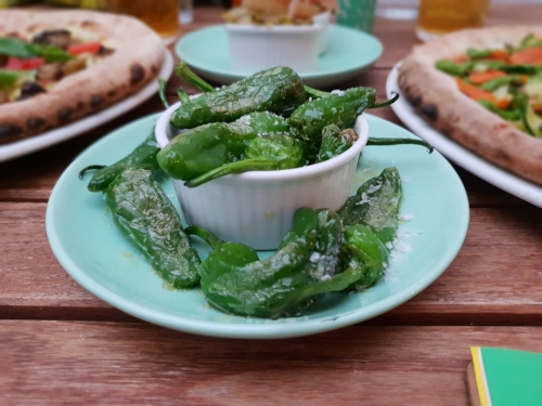 Roasted Padron Pepper