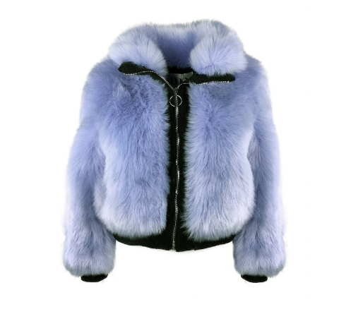 Amo Couture Amalfi Bomber Jacket - Glamorous and cool, Amo Couture do faux fur jackets and coats in lots of different styles and colours. This bomber will keep you feeling warm and looking fabulous. £234.99