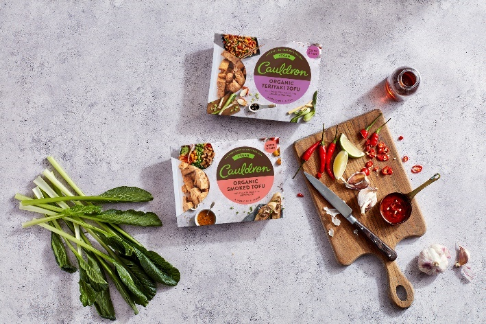 Cauldron Organic Smoked Tofu, and Organic Teriyaki Tofu Pieces - Cauldron has added to their tofu range with two new products packed full of flavour: Smoked Tofu and Teriyaki Pieces. Delicious in stir fries and salads and no need to marinade. £2.50