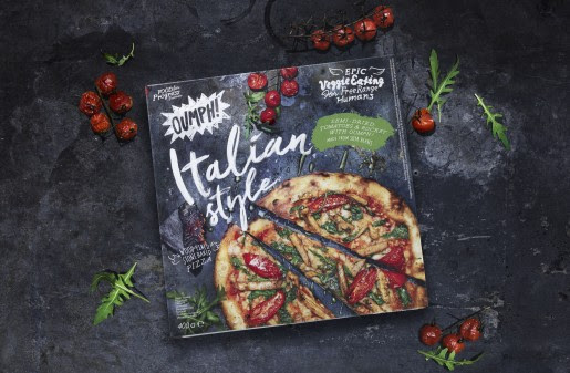 Oumph! Italian Style Pizza - Following the success of their soy chunks, Oumph! have launched a frozen pizza packed with sundried tomatoes, rocket and of course, their soy strips. Available at Tesco stores nationwide.