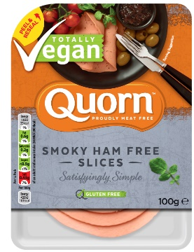 Quorn Vegan Smoky Ham Free Slices - Great in sandwiches and salads, these slices are ideal for a light and quick lunch. £2