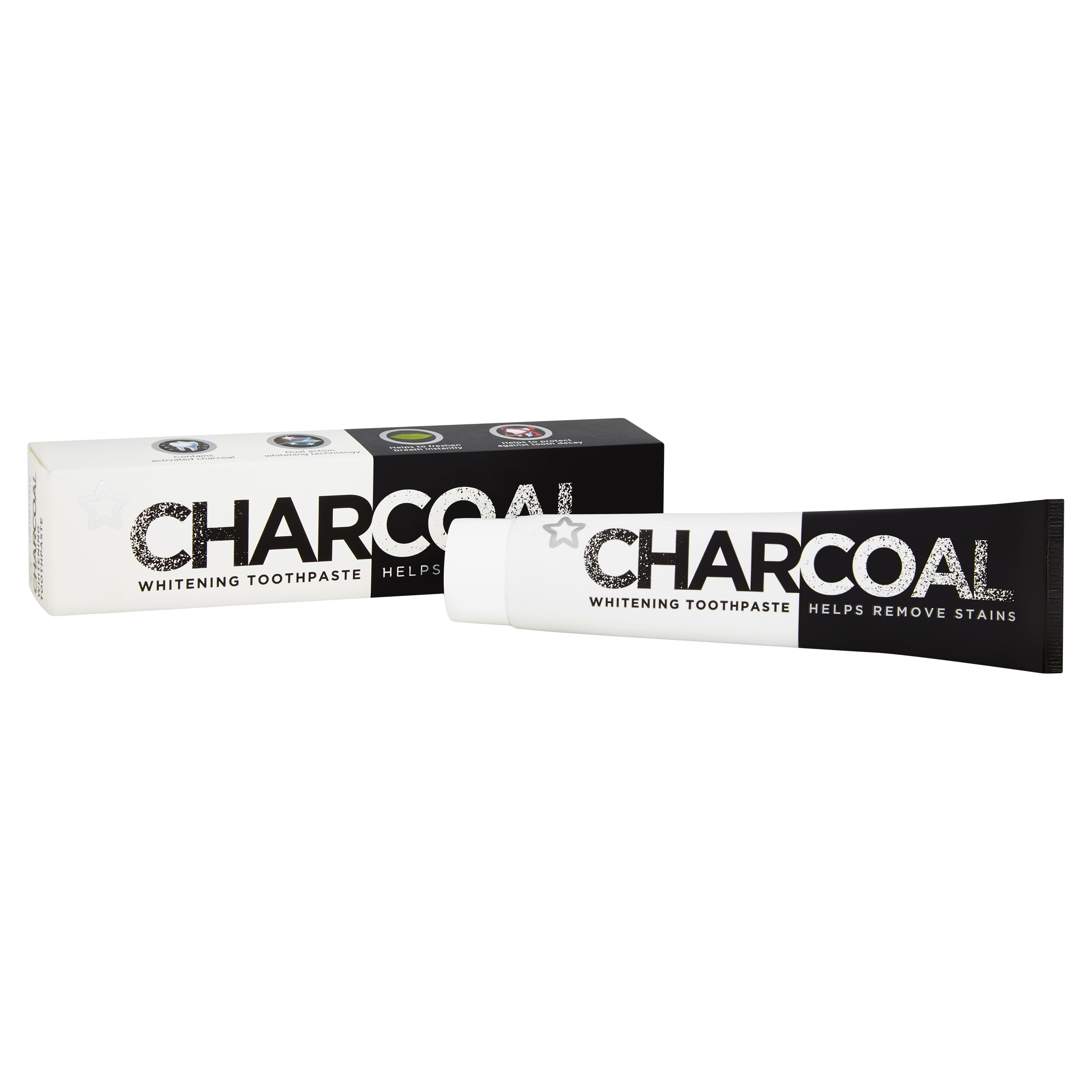 Superdrug Charcoal Whitening Toothpaste - The jury is still out on whether charcoal really does remove stains, however what it does do, is it attracts and removes toxins and bacteria. This vegan and cruelty-free toothpaste by Superdrug gets rid of plaque and surface stains, has a fresh peppermint taste, comes in full and handy mini travel size and at £2.99 is also very affordable.
