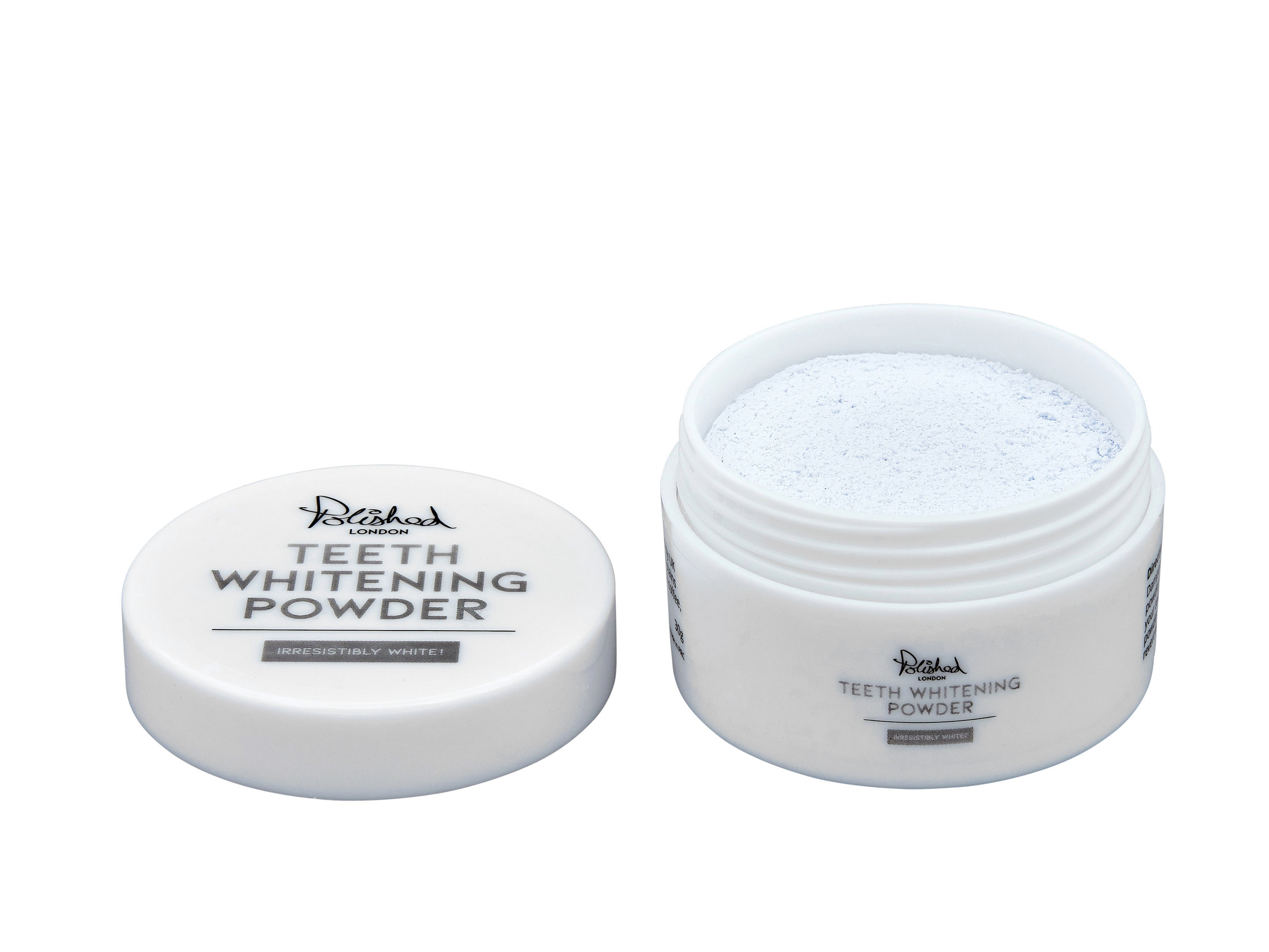 Polished London Teeth Whitening Powder - Polished London's Teeth Whitening Powder contains calcium carbonate, which studies have shown is effective at removing surface stains on the teeth when used regularly. This whitening powder certainly delivers and results are noticeable after 10-14 days. Use once a day, brushing your teeth for two minutes (I've used it both after brushing my teeth with my usual toothpaste and combining it with it too, thus only brushing once). After the first two weeks use for two minutes once a week to keep your teeth sparkling and stain-free. This powder has a peppermint taste and slightly fizzes when using. It's suitable for those with sensitive teeth too, but if the enamel on your teeth is damaged or worn off, consult your dentist before using. £25.99