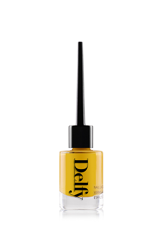 Delfy Cosmetics Sunshine £11.90 - One of the most summery and cheerful shades I've come across, Delfy Cosmetics nail polish in Sunshine always puts a smile on my face and gets me noticed when I wear it. This is a rich sunflower shade that complements darker or paler skin tones and lasts a long time even without a top coat. The cleverly designed brush makes application easy.