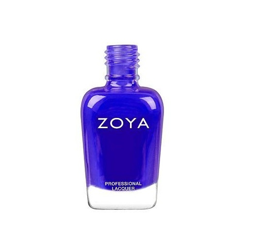 Zoya Mirajane Neon £11 - Free from toluene, camphor, formaldehyde, formaldehyde resin and DBP (dibutyl phthalate), this vegan polish is ideal for everybody, but especially those with weak, brittle nails. It comes in lots of lovely, glossy, long lasting shades, such as this stunning purple-blue Mirajane Neon, and is available from Holland and Barrett.